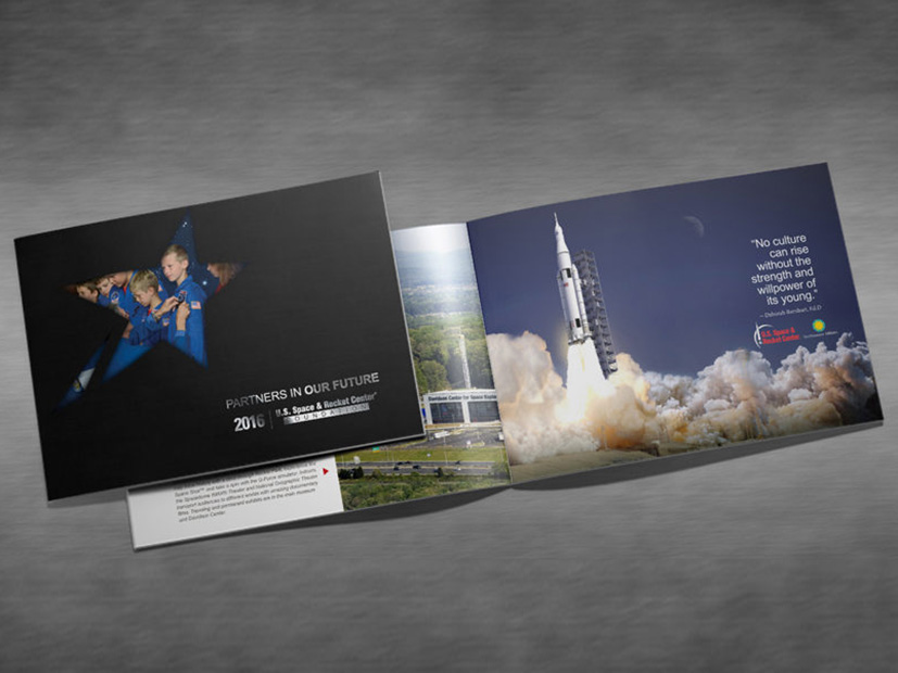 space and rocket center brochure